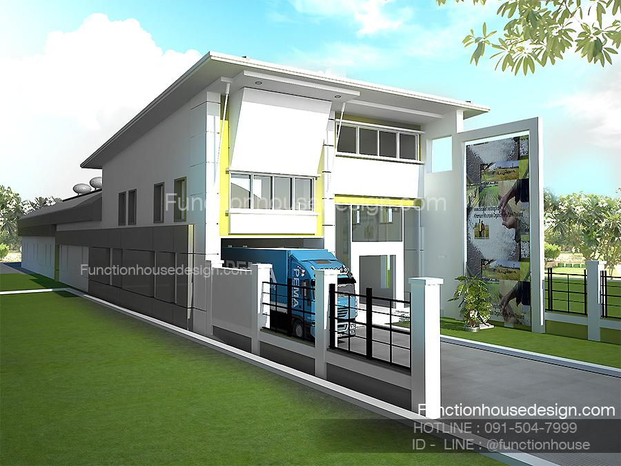 ออกแบบโครงการโรงงาน โกดังสินค้า โดย Functionhouse