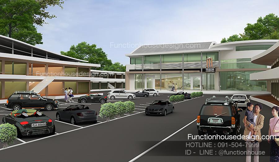 ออกแบบโครงการห้างสรรพสินค้า โดย Functionhouse
